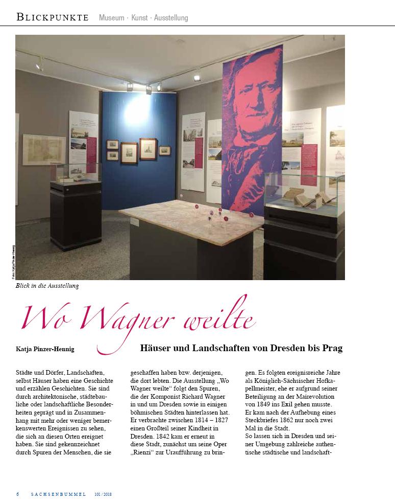 Ulrike Eichhorn - Kuratorin der Ausstellung - Wo Wagner weilte